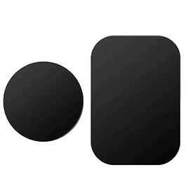 Pack x2 Repuesto Metálico Placa Metalica para Soporte Iman / Magnético