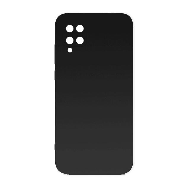 Carcasa Silicona Negro Interior Suave Samsung Galaxy A12