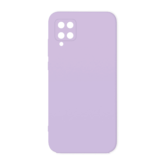 Carcasa Silicona Violeta Claro Interior Suave Samsung Galaxy A12