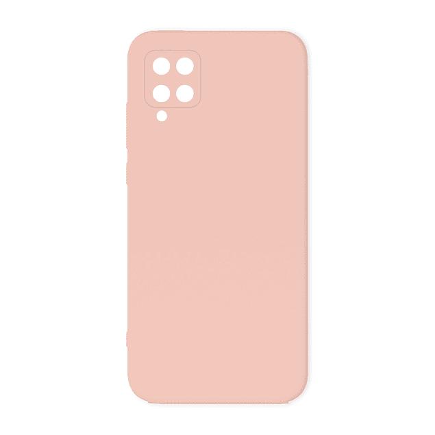 Carcasa Silicona Rosa Interior Suave Samsung Galaxy A12