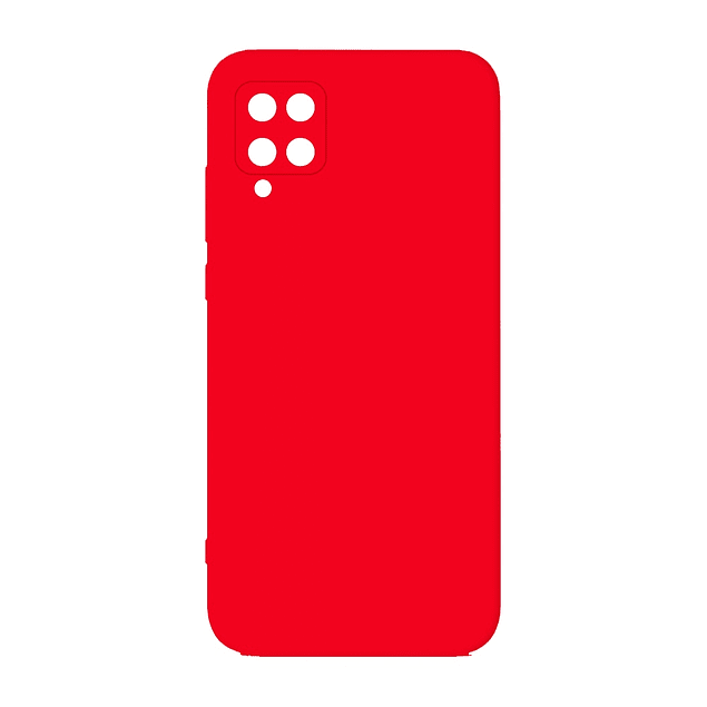 Carcasa Silicona Rojo Interior Suave Samsung Galaxy A12