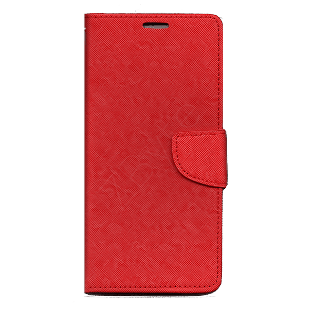 Carcasa Billetera Flipcover Rojo Samsung Galaxy A12