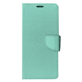 Carcasa Billetera Flipcover Aqua Samsung Galaxy A12