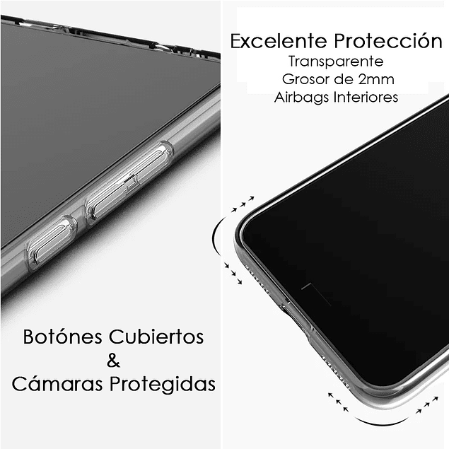 Carcasa Transparente Antigolpes Reforzada Premium Samsung Galaxy A02s