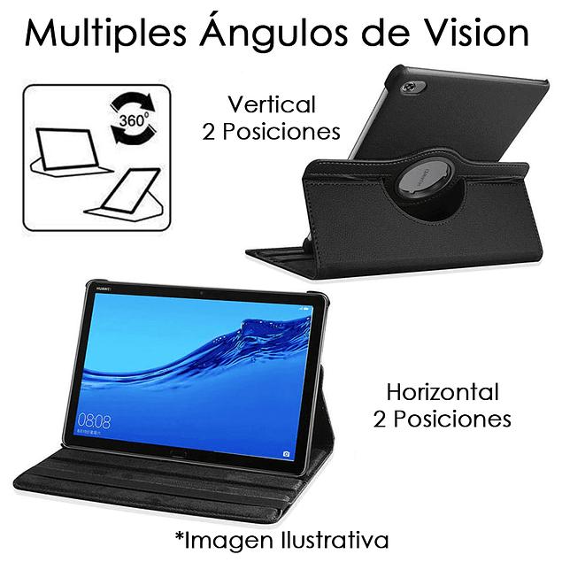 Funda Giratoria 360 Negra Galaxy Tab A 8 S Pen P200 P205