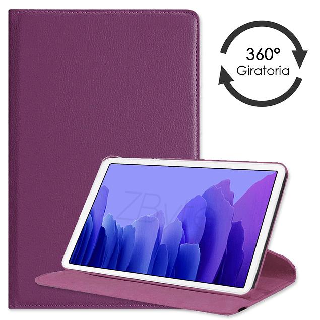 Funda Giratoria Violeta Galaxy Tab A7 10.4 T500 T505