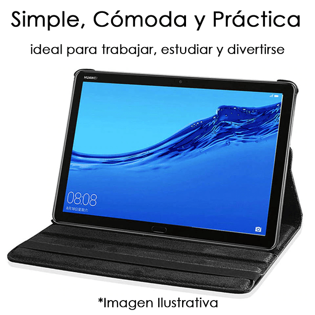 Funda Giratoria Fucsia Galaxy Tab S6 Lite 10.4 P610 P615