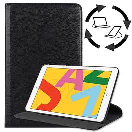 Funda Giratoria Negro iPad 10.2 7ma y 8va Generación