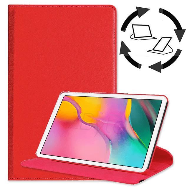 Funda Giratoria 360 Rojo Galaxy Tab A 8