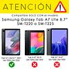 Carcasa Antigolpes Armor Negro Galaxy Tab A7 Lite 8.7