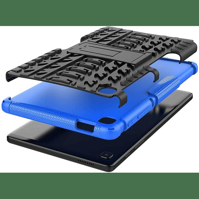 Carcasa Antigolpes Armor Azul Galaxy Tab A7 Lite 8.7