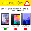 Carcasa Antigolpes Armor Morado Galaxy Tab A7 Lite 8.7