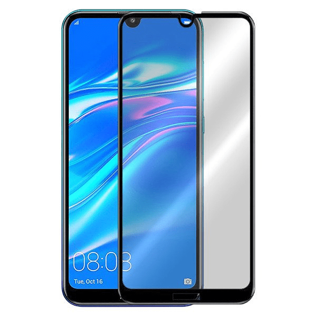 Vidrio templado completo Huawei Y7 2019 5D