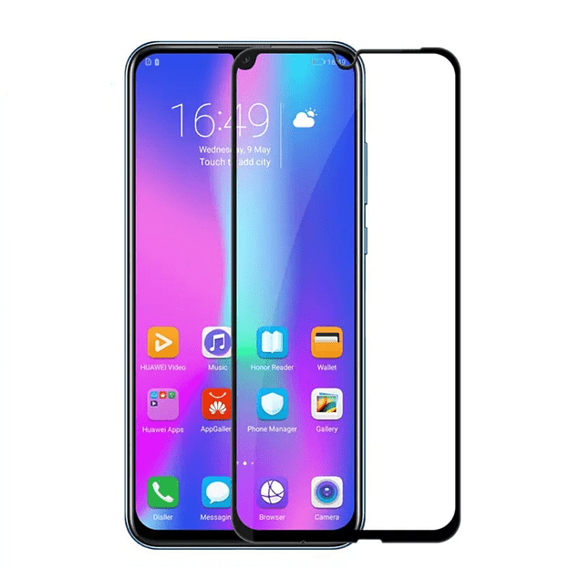 Lámina Vidrio templado 5D Huawei P Smart 2019