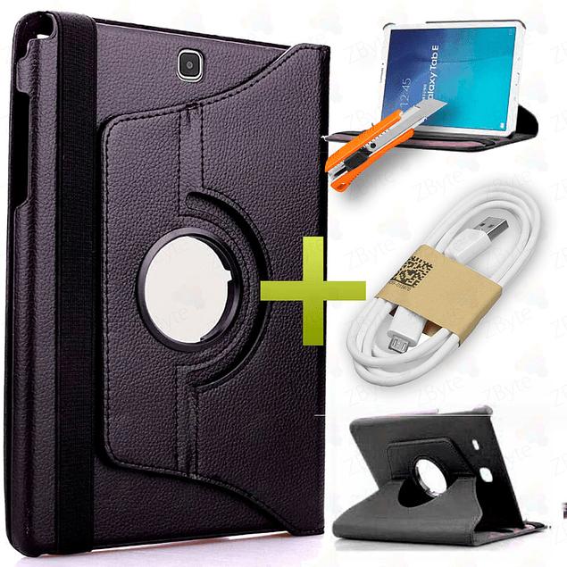 Funda 360 + Vidrio Templado Galaxy Tab A 8
