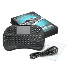 Teclado Smart TV Inalambrico recargable 2en1
