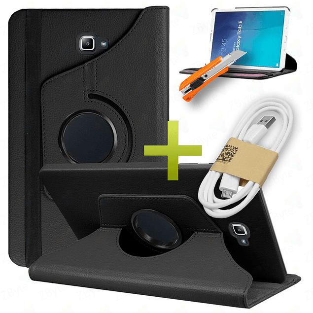 Funda 360 + Vidrio Templado Galaxy Tab A 10