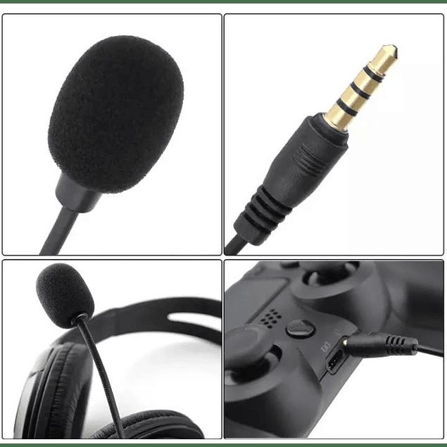 Audífonos Gammer con micrófono para PS4 y Xbox One