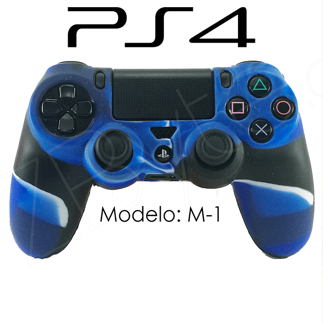 Silicona PS4 Modelo M1+ Análogos
