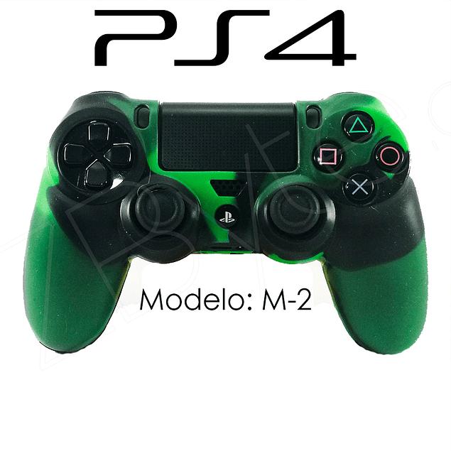 Silicona PS4 Modelo M2 + Análogos