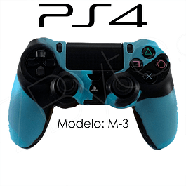 Silicona PS4 Modelo M3 + Análogos