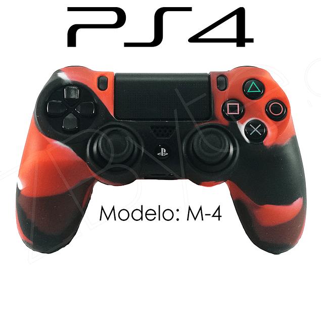 Silicona PS4 Modelo M4 + Análogos
