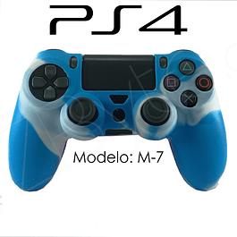 Silicona PS4 Modelo M7 + Análogos