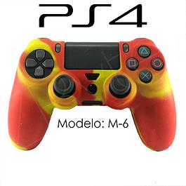 Silicona PS4 Modelo M6 + Análogos