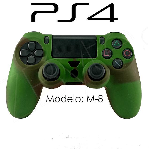Silicona PS4 Modelo M8 + Análogos