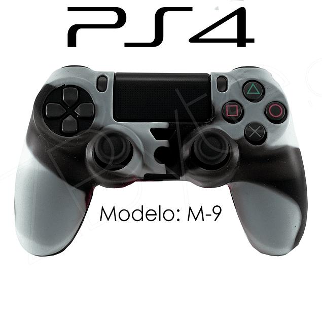 Silicona PS4 Modelo M9 + Análogos