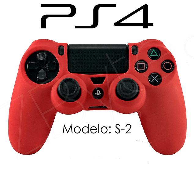Silicona PS4 Modelo S2 + Análogos
