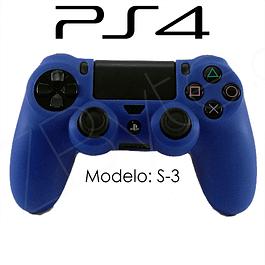 Silicona PS4 Modelo S3 + Análogos