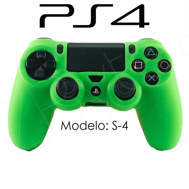 Silicona PS4 Modelo S4 + Análogos