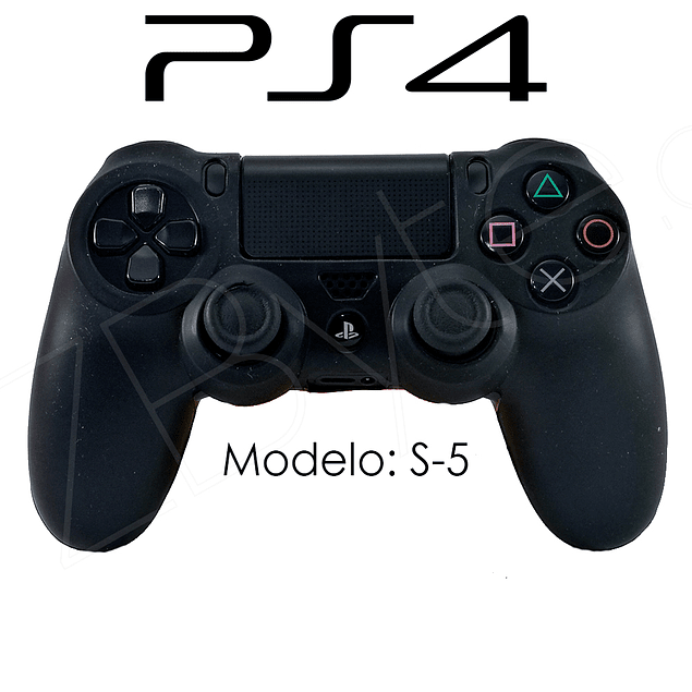 Silicona PS4 Modelo S5 + Análogos
