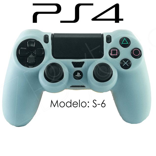 Silicona PS4 Modelo S6 + Análogos