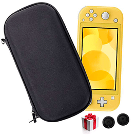 Funda Bolso Protector Nintendo Switch Lite Mini + Análogos