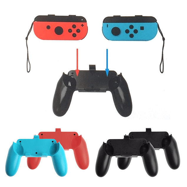 Pack 2 Grip Carcasa Mando Joy-con Nintendo Switch