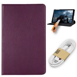 Funda 360 + Vidrio Templado Tablet Galaxy Tab A T590 + Usb