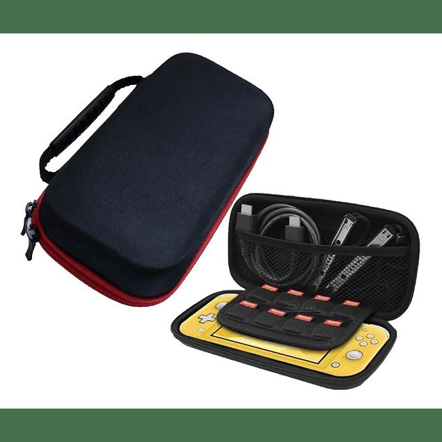 Pack Bolso Estuche Nintendo Switch Lite + Mica + Cable + Usb