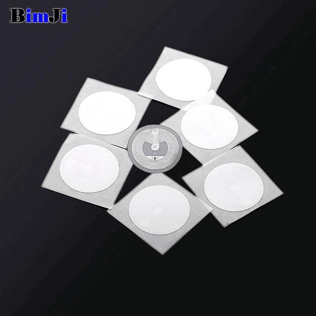 Pack 10 Etiquetas Nfc Adhesiva Ntag213