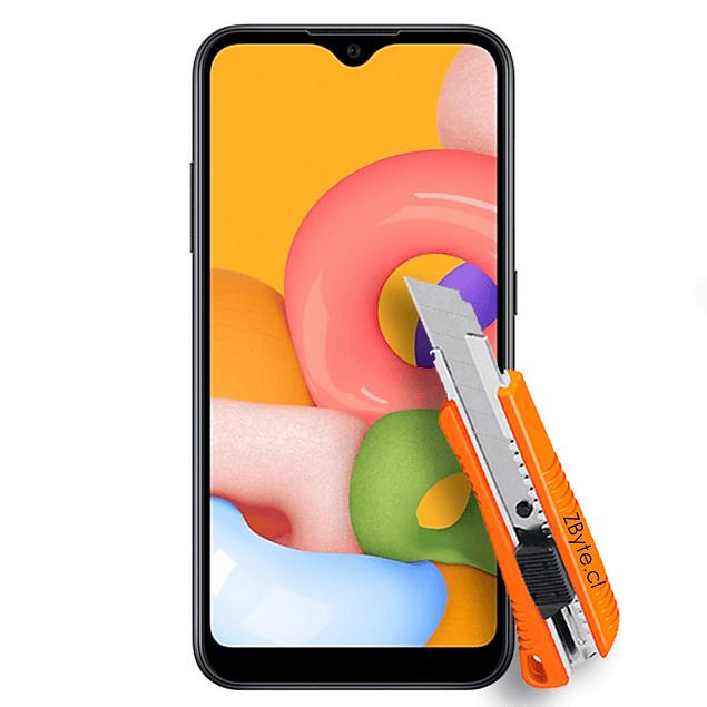 Vidrio Templado Samsung Galaxy A01