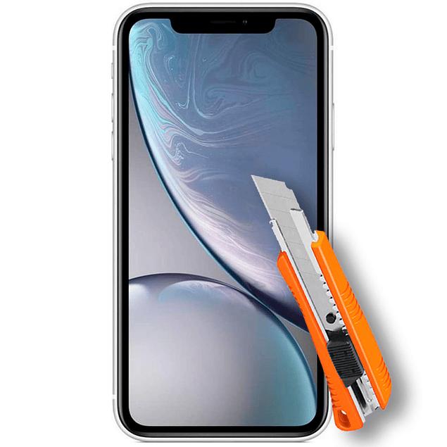 Lámina Mica Vidrio Templado iPhone XR