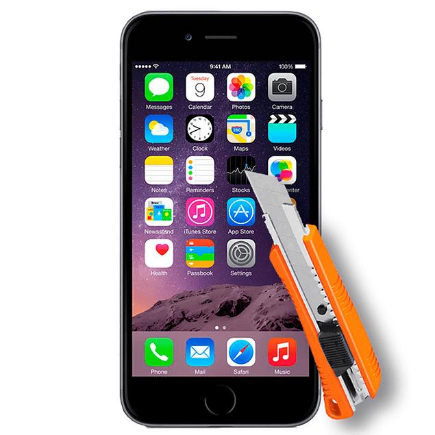 Lámina Mica Vidrio Templado iPhone 6