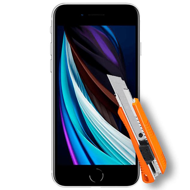 Lámina Mica Vidrio Templado iPhone SE 2020