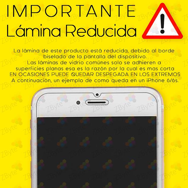 Lámina Mica Vidrio Templado iPhone X