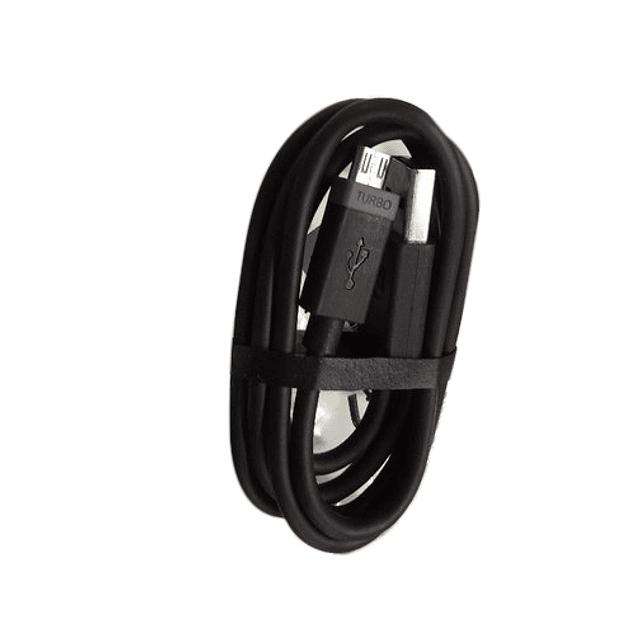 Cable Micro USB Carga Rapida Turbo Para Motorola