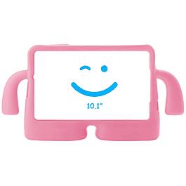 Carcasa Silicona Antigolpes Tablet 10.1 Rosa Samsung T580 T585