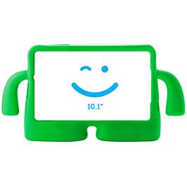 Carcasa Silicona Antigolpes Tablet 10.1 Verde Samsung T580 T585