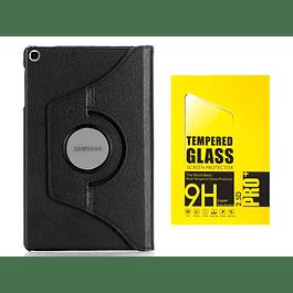 Pack Funda 360 Negro + Vidrio Templado Galaxy Tab A 10.1 2019 T510 T515