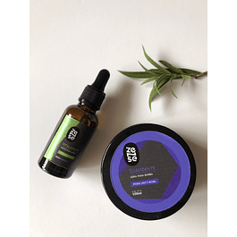 Set Aceite & Cera de Barba ecológica